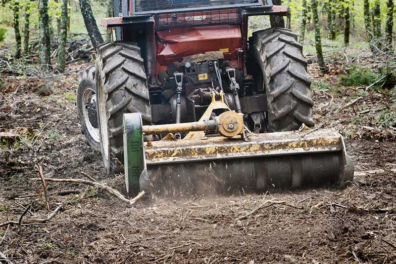 How to Maintain a Forestry Mulcher Head Attachment