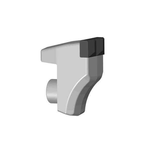 Fixed Teeth fitting to FAE Stone Crusher with 2 Carbide Tips, type CSS style